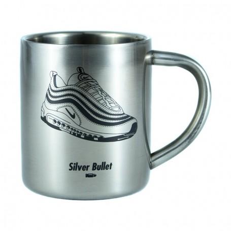 Silver Bullet Stainless Steel Mug   La Sneakerie