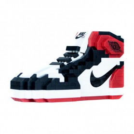 Jeu de briques Air Jordan 1 Black Toe - LA SNEAKERIE