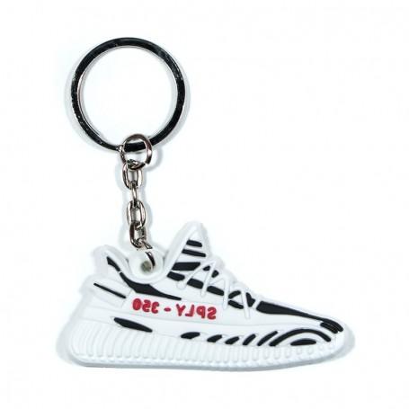 Porte-Clés Silicone Yeezy 350 V2 Zebra   La Sneakerie