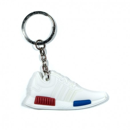NMD OG White Silicone Keychain - LA SNEAKERIE