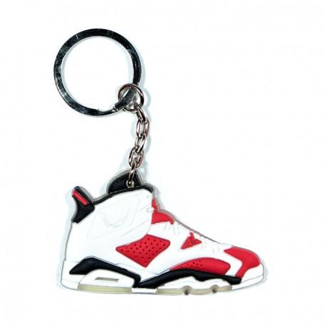 Air Jordan 6 Carmine Silicone Keychain - LA SNEAKERIE