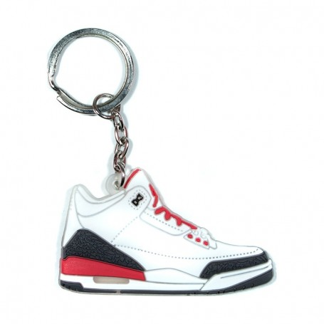Air Jordan 3 Katrina Silicone Keychain - LA SNEAKERIE