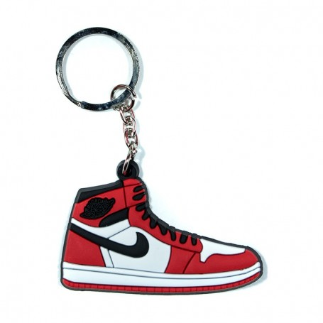 Air Jordan 1 OG Chicago Silicone Keychain - LA SNEAKERIE