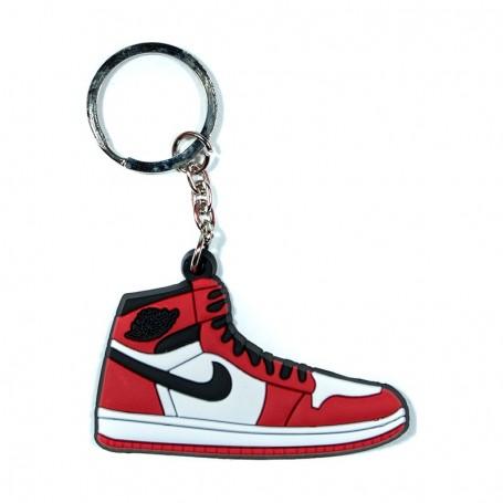 Porte-Clés Silicone Air Jordan 1 OG Chicago | La Sneakerie