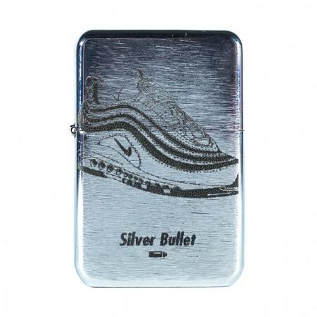 "Briquet acier ""Silver Bullet"" - LA SNEAKERIE"