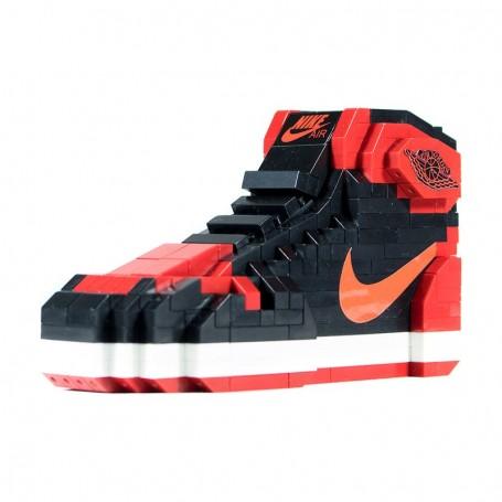 Jeu de briques Air Jordan 1 Bred - LA SNEAKERIE