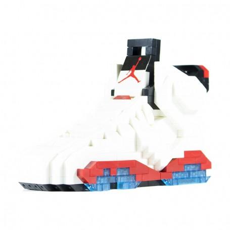 Jeu de briques Air Jordan 6 White Infrared - LA SNEAKERIE