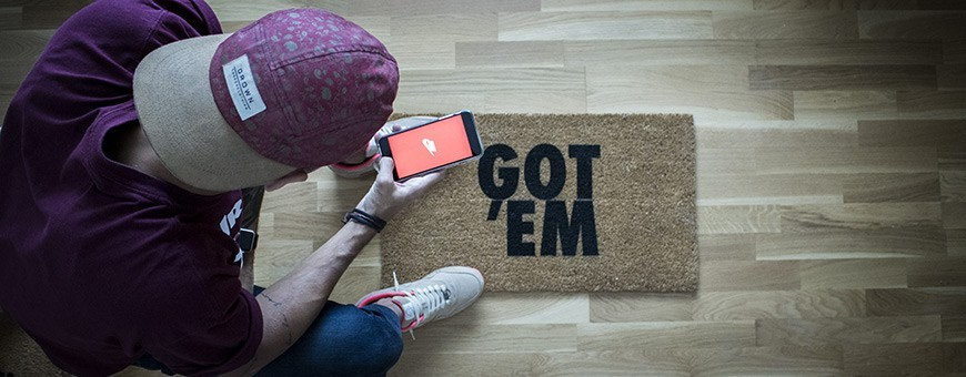 Doormats - Stylish accessory to drop off your sneakers