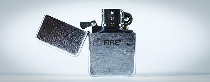 Briquets Acier - Est ce que t'as du feu ?