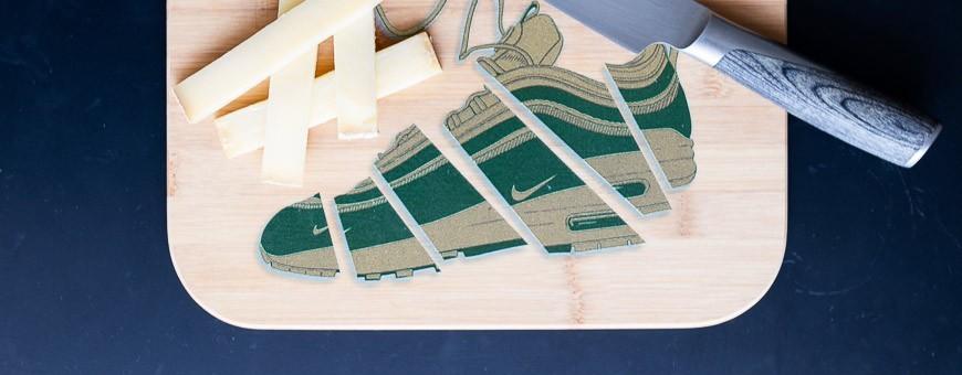 Schneidebretter Sneakers   La Sneakerie