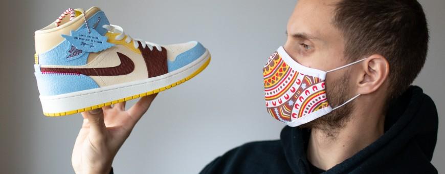 Masken Sneakers   La Sneakerie