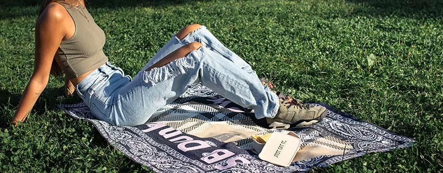 Picknick-Decken Sneakers | La Sneakerie